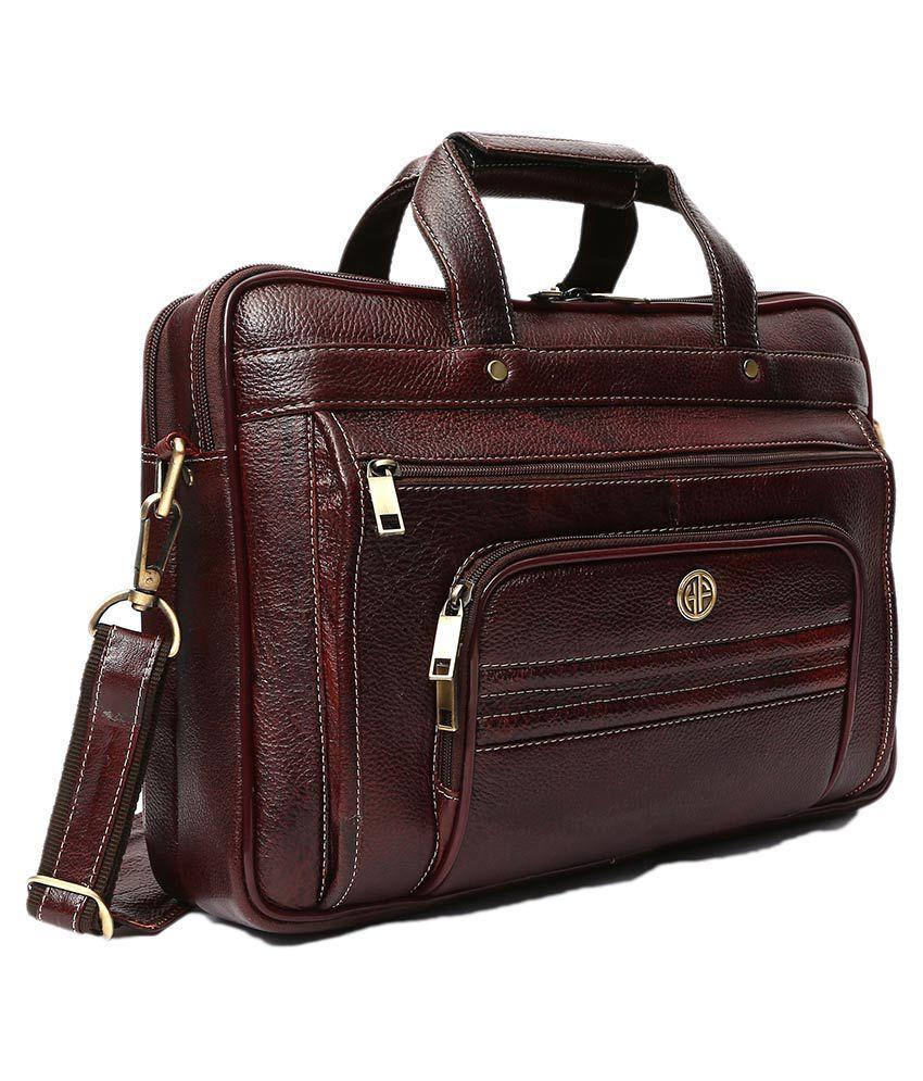 Hammonds Flycatcher Brown Genuine Leather Office Bag Sling Bag for Men    Women Side Bag - Buy Hammonds Flycatcher Brown Genuine Leather Office Bag  Sling Bag ... c3ca4320ff3