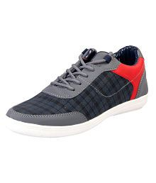 Aadi Gray Casual Shoes