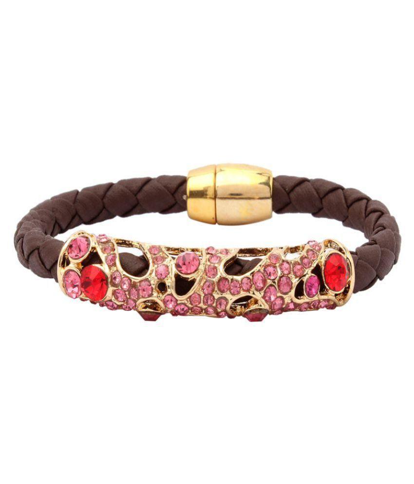 Vendee Fashion Multicolour Alloy Bracelet