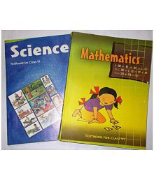 NCERT SET OF BOOKS FOR CLASS 6 OF SCIENCE AND MATHEMATICS