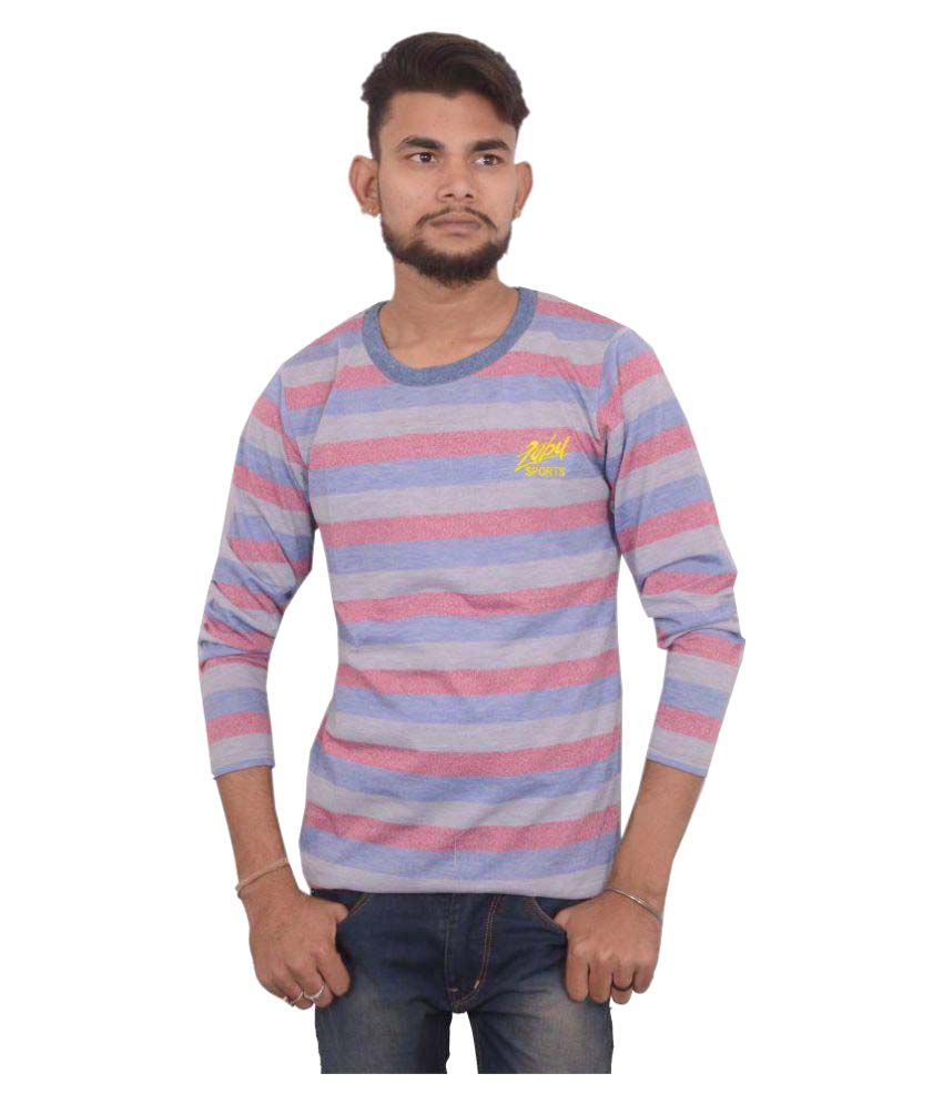 Hero & Piyush Multi Round T-Shirt