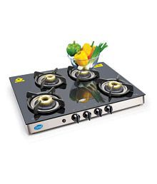 Glen Gl 1048 GT AI Forged Bb 4 Burner Auto Gas Stove