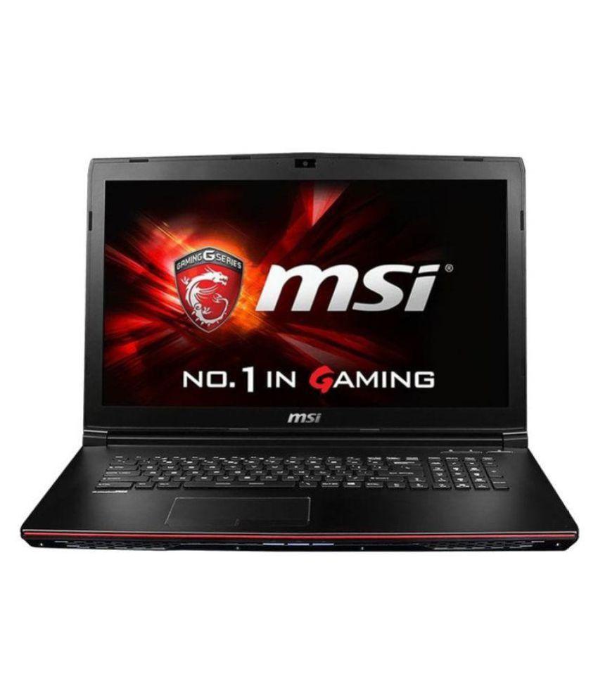 MSI GS Apache Pro (GE62VR 6RF) Notebook (6th Gen Intel Core i7- 16GB RAM- 1TB HDD- 39.62cm(15.6)- Windows 10- 6GB Graphic Card) (Black)