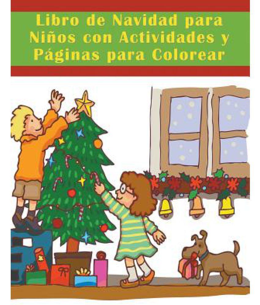 Libro de Navidad Para Ninos Con Actividades y Paginas Para Colorear ...