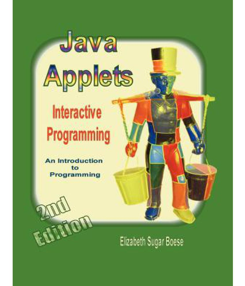 Java Applets 2nd Ed B W Buy Java Applets 2nd Ed B W Online At