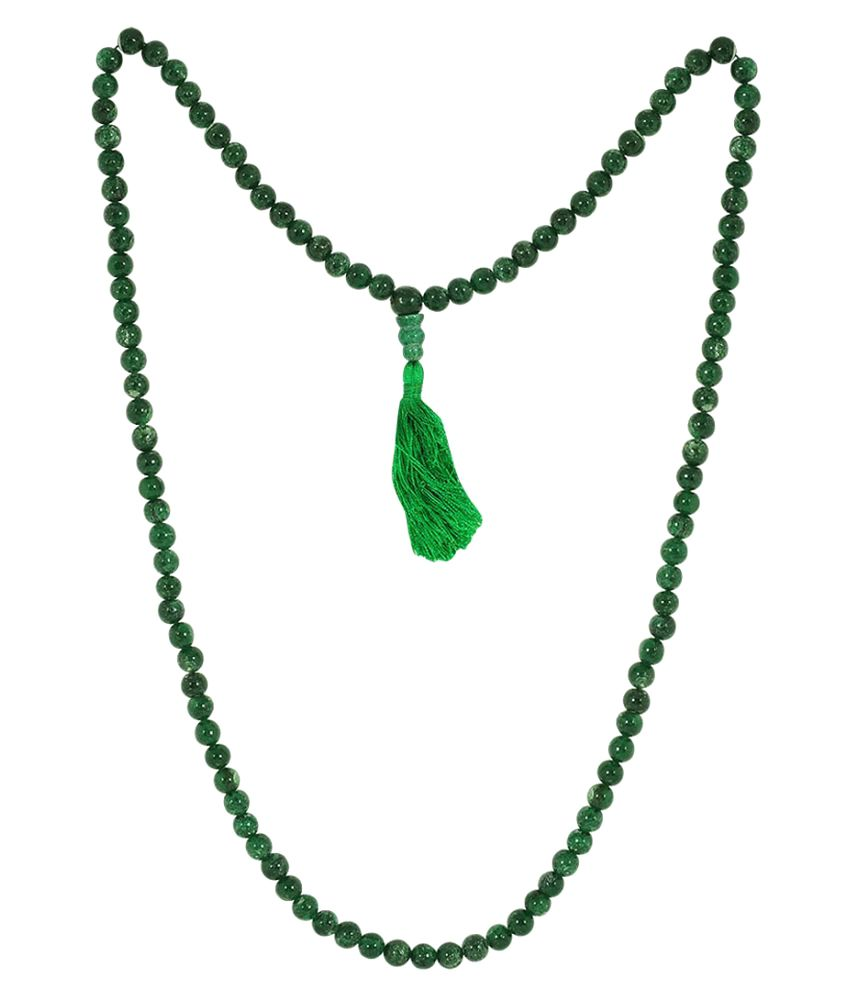 Astroba Green Jade Necklace - Lab-Certified
