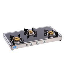 Glen GL 1038 GT AI Forged BB Mirror 3 Burner Auto Gas Stove