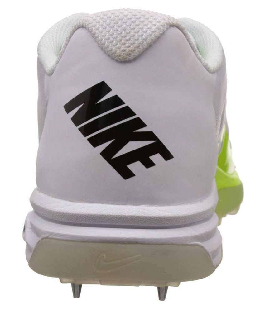 the best attitude 302d3 64106 ... Nike Lunar Dominate 2 White Cricket Shoes ...