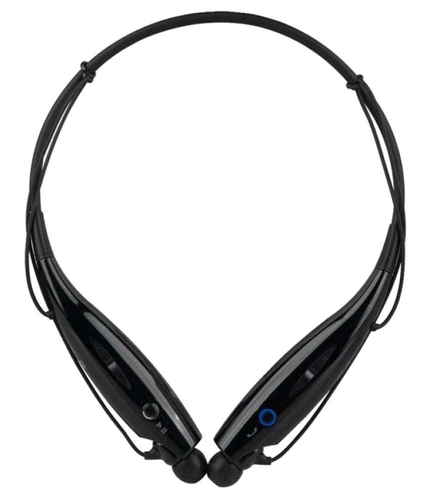 Shanice HBS816 Wireless Bluetooth Headphone Black