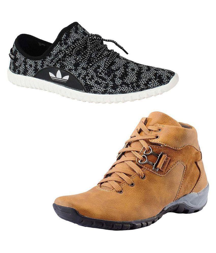 Rimson Multi Color Casual Shoe Combo