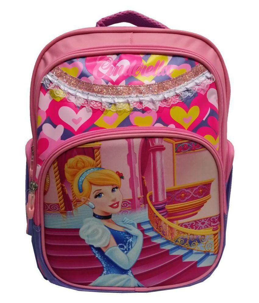 Tasni Pink School Bag for Girls