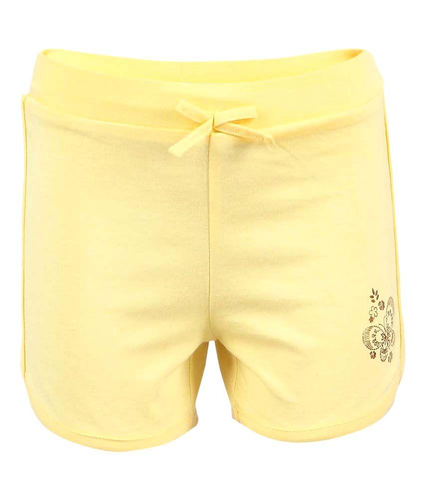 Ctee Yellow Shorts