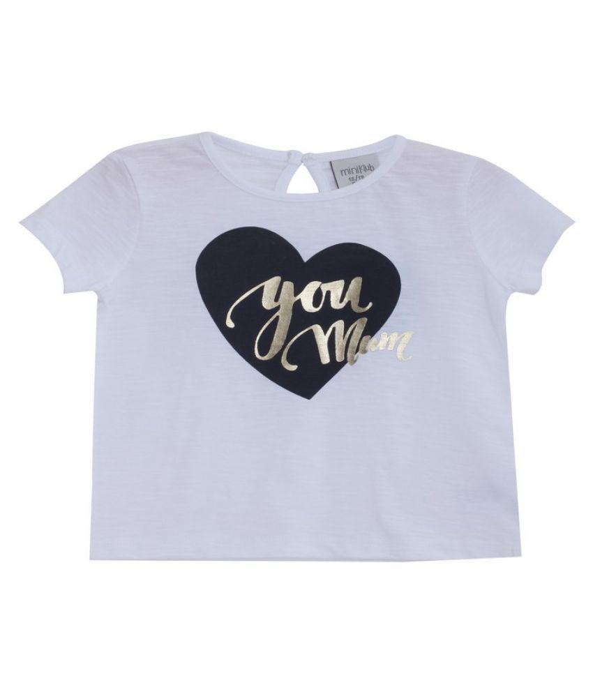 Mini Klub White T-Shirt