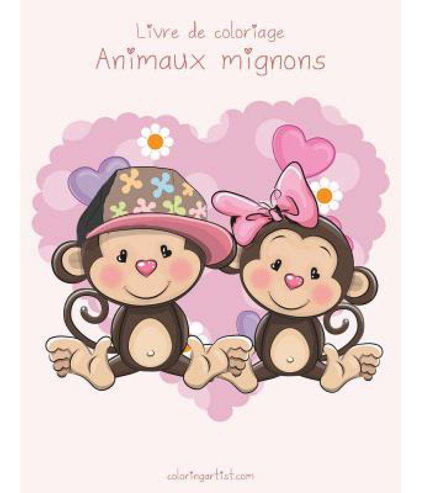 Livre De Coloriage Animaux Mignons 1 Buy Livre De Coloriage