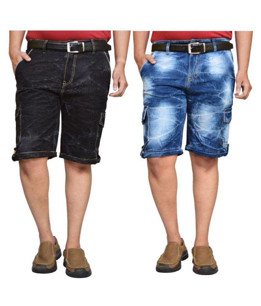 British Terminal Multi Shorts Pack of 2