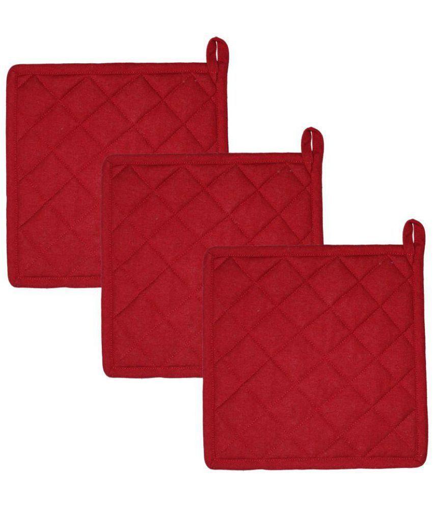 Airwill, Cotton Designer Pot Holders (Pack of 3 pcs).