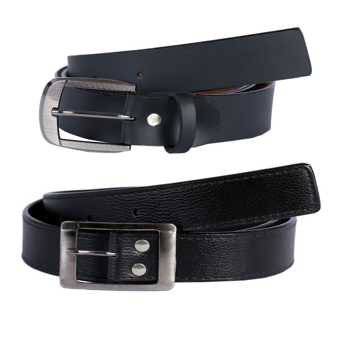Hardys Collection Black Leather Formal Belts