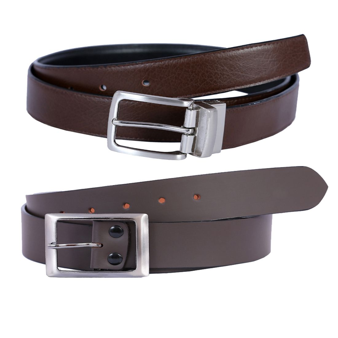 Hardys Collection Brown Leather Casual Belts