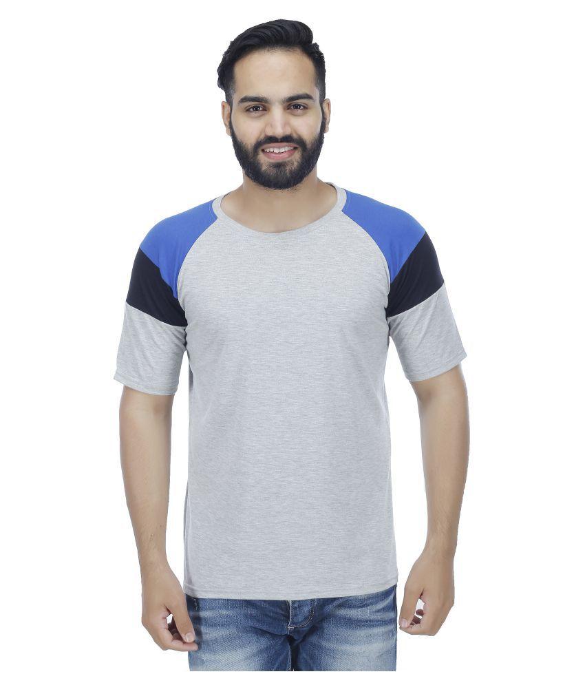 Rakshita's Collection Grey Round T-Shirt