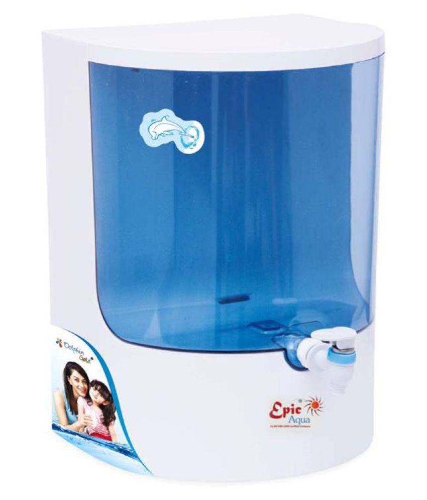 EPIC AQUA Dolphin Gold Plus 8 Ltr RO Water Purifier - Buy Online ...
