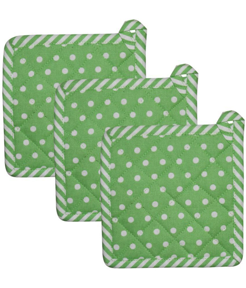 Airwill Cotton Designer Printed Pot Holders Pack of 3