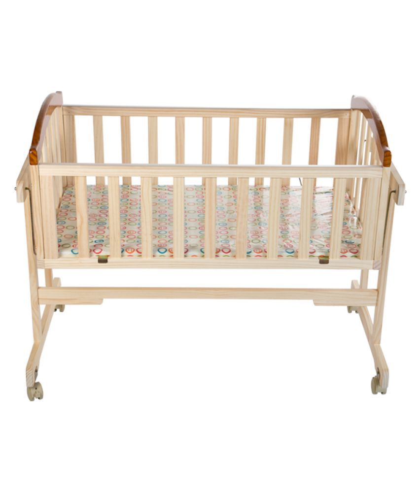 Baby Wooden Swing Bed