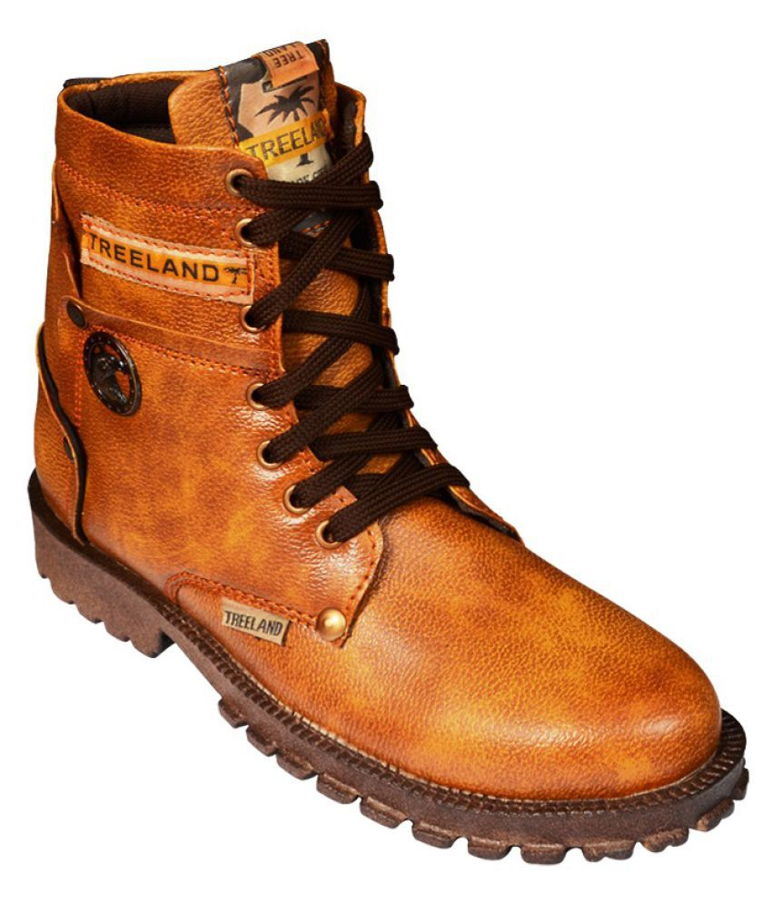 Elvace Tan Party Boot