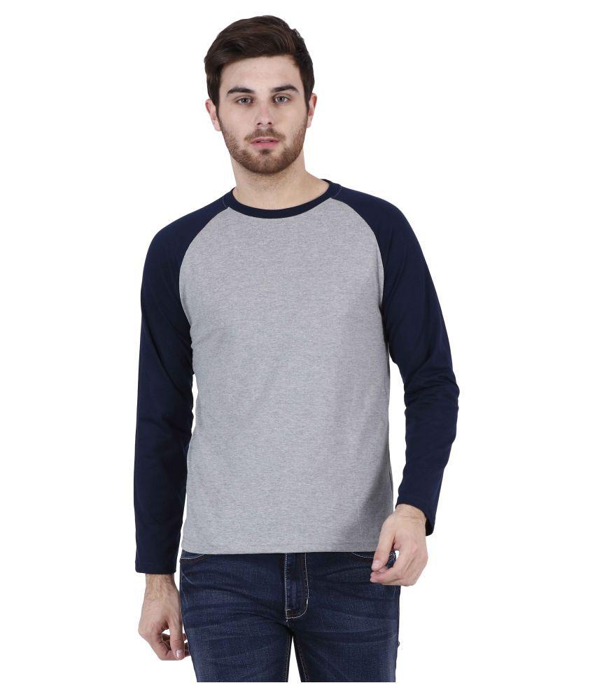 U.S.Elk Grey Round T-Shirt