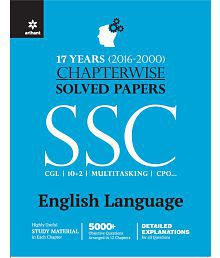Chapterwise Solved Papers SSC Staff Selection Commission ENGLISH LANGUAGE 2017