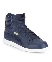 Puma Rebound Mid Lite DP Navy Casual Shoes