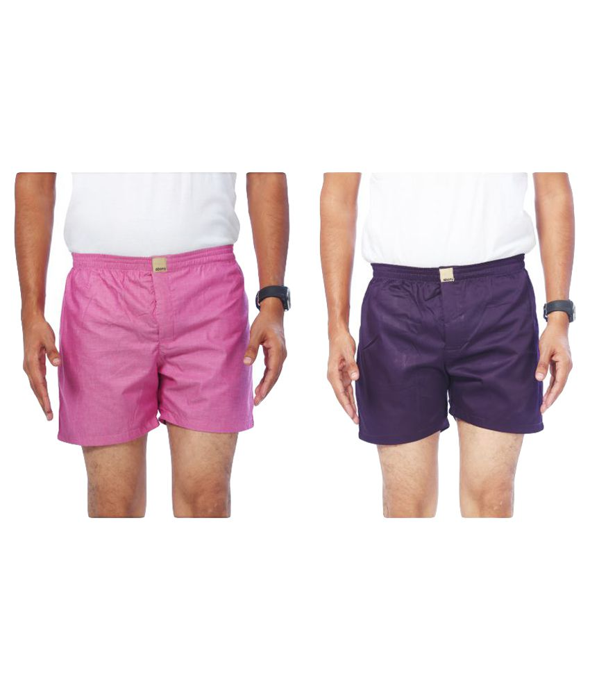 Abony Multi Shorts Pack of 2