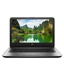HP 14-ar003tu Notebook (6th Gen Intel Core i3- 4GB RAM- 1TB HDD- 35.56cm (14)- DOS) (Silver)