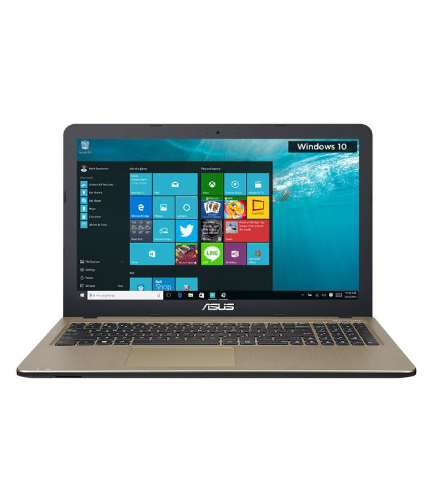 Asus X Series X540SA-XX383T Notebook Intel Pentium 4 GB 39.62cm(15.6) Windows 10 Home without MS Office Not Applicable Grey