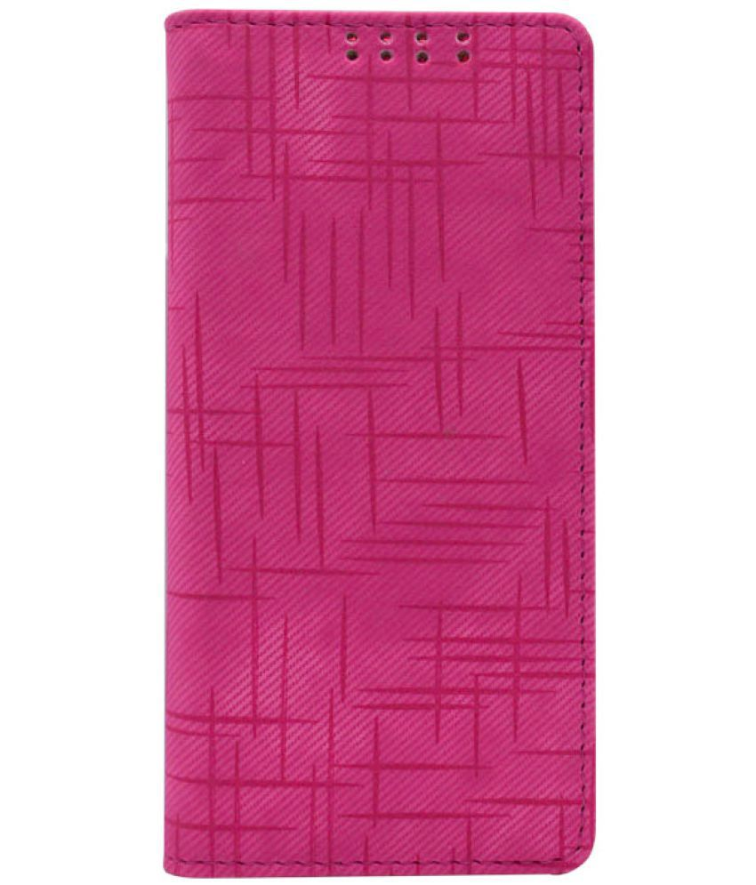 Samsung Galaxy A5 Flip Cover by Dsas - Pink