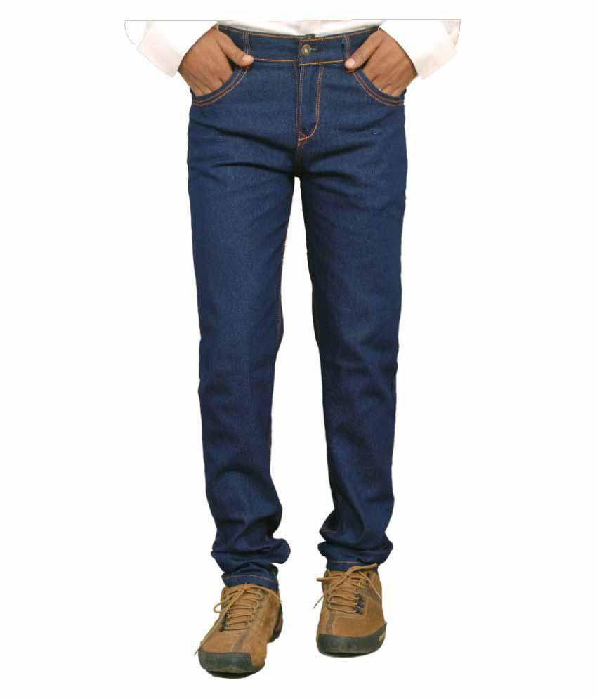 American Gangsta Blue Regular Fit Jeans