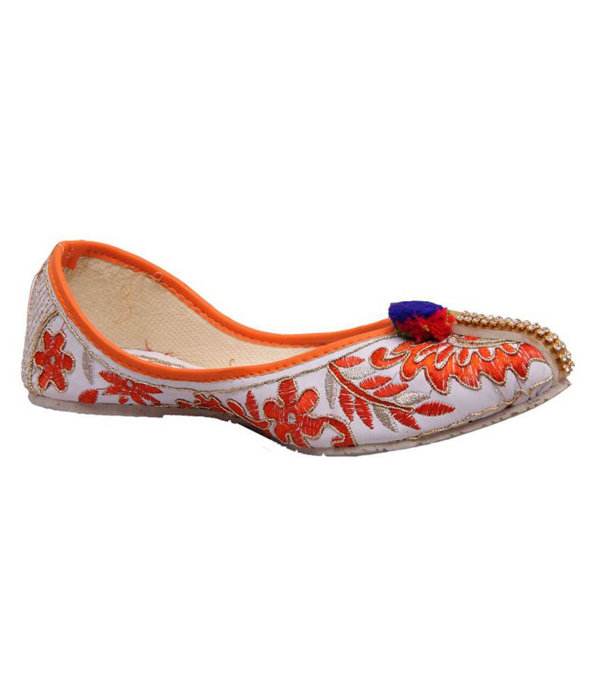 Fashbeat Multi Color Flat Ethnic Footwear