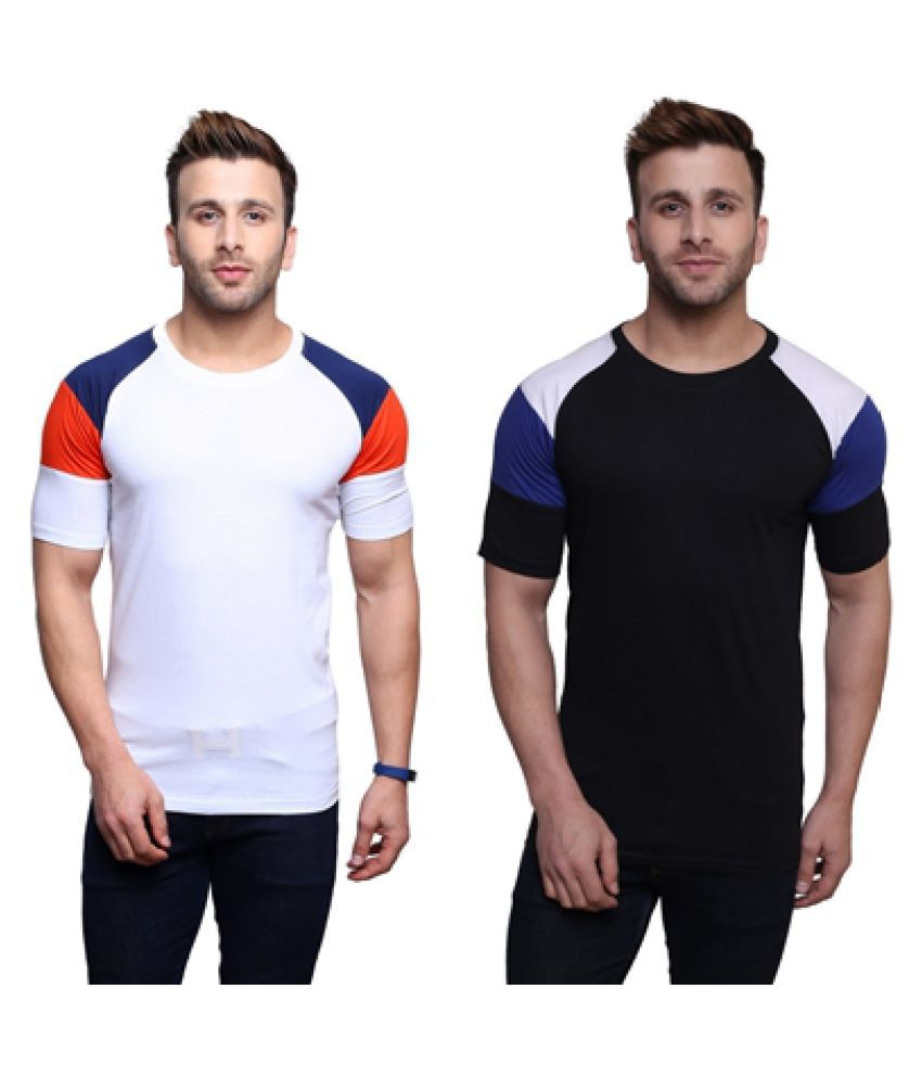 Darwin Multi Round T-Shirt Pack of 2