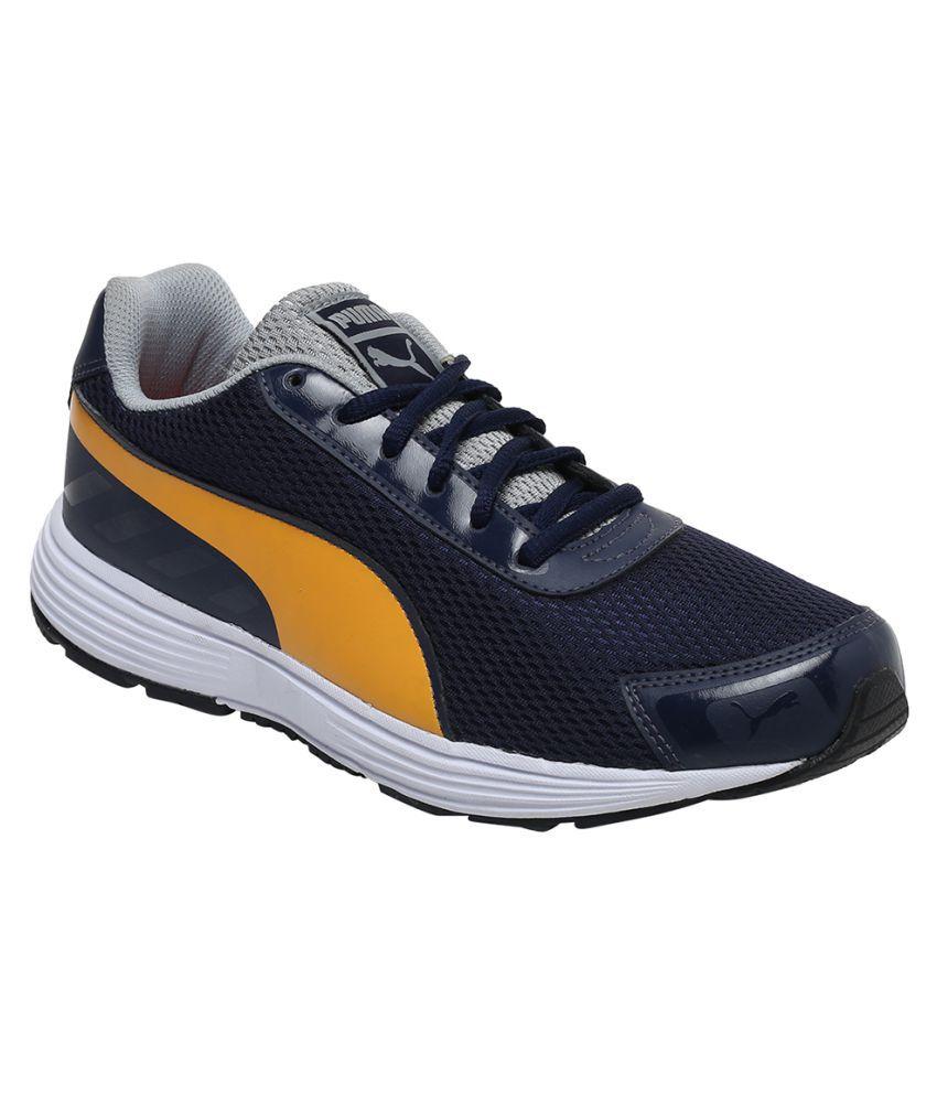 Puma Blue Running Shoes