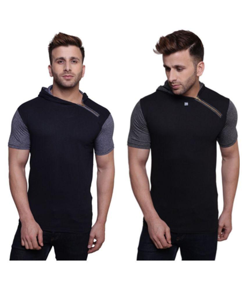 Darwin Multi Round T-Shirt Pack of 2