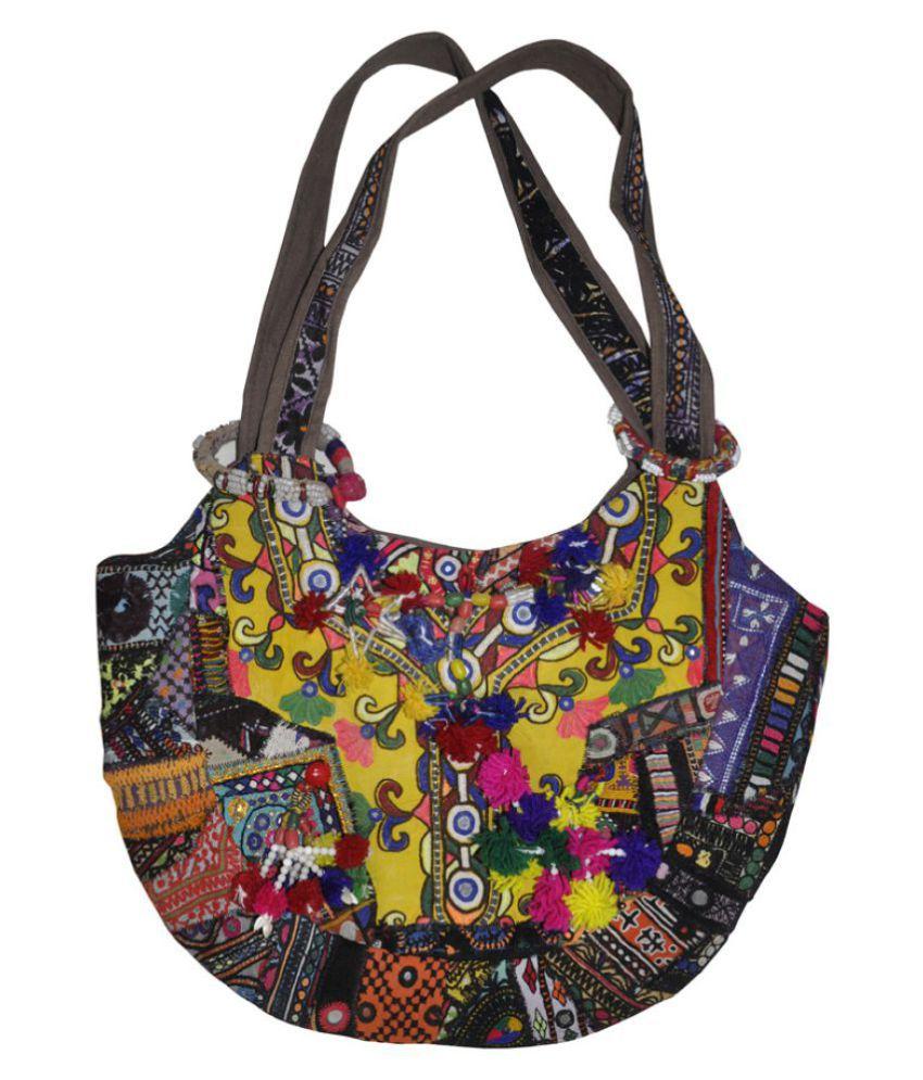 Lal Haveli Multi Cotton Shoulder Bag