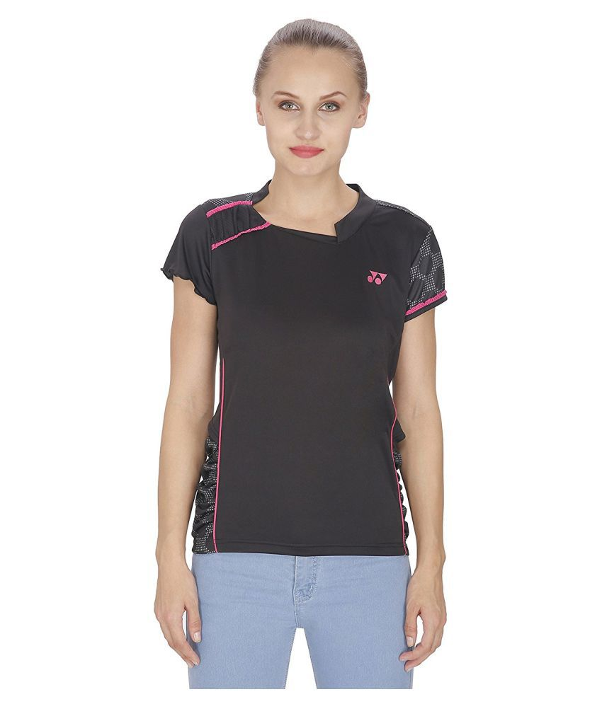 Yonex Black Women T-Shirt