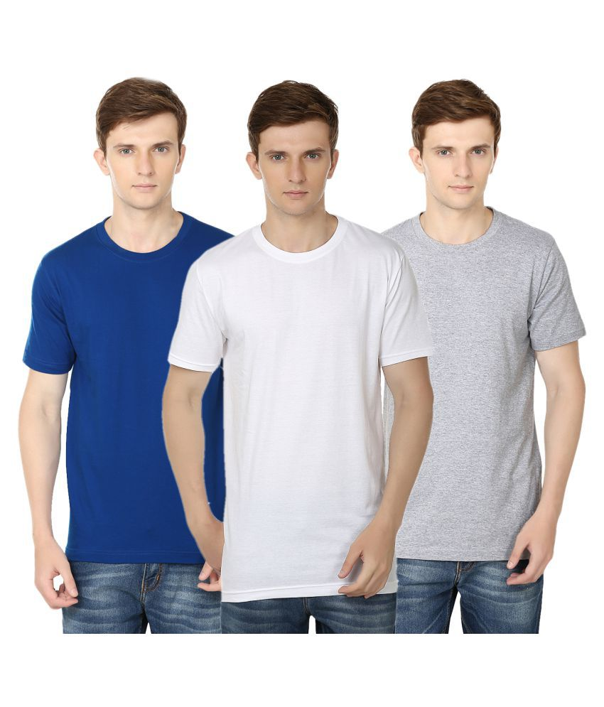 Ben Carter Multi Round T-Shirt Pack of 3