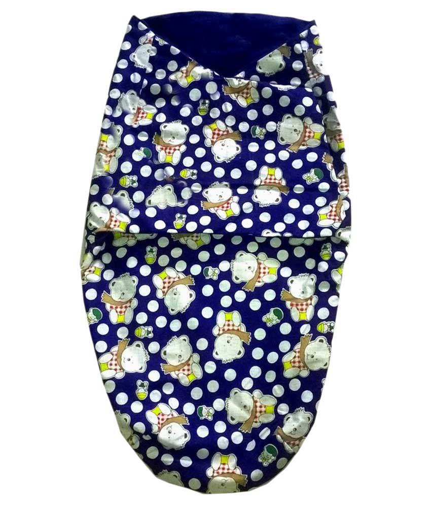 Big Bear Multi-Colour Cotton Sleeping Bags ( 27 cm × 50 cm)