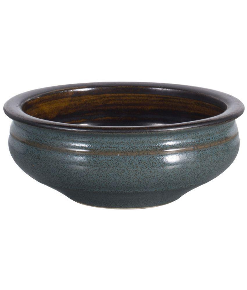 Caffeine 1 Pcs Ceramic Snacks Bowl 1000 ml