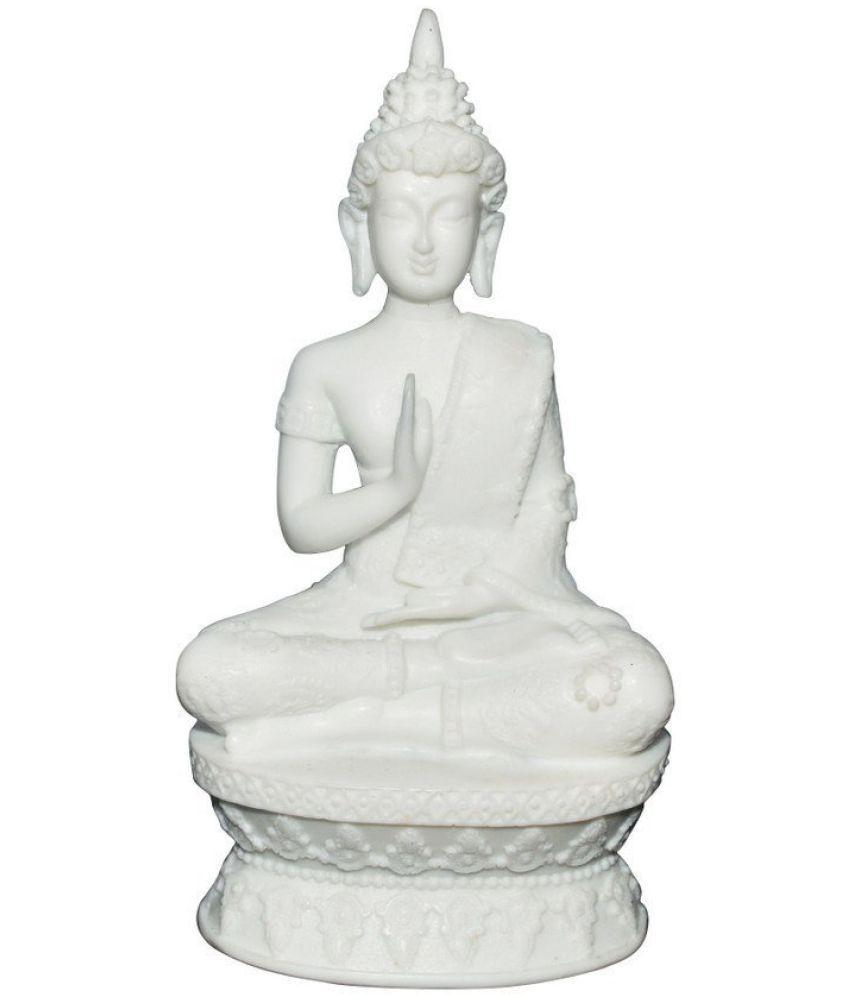 Karara Mujassme Buddha Marble Idol
