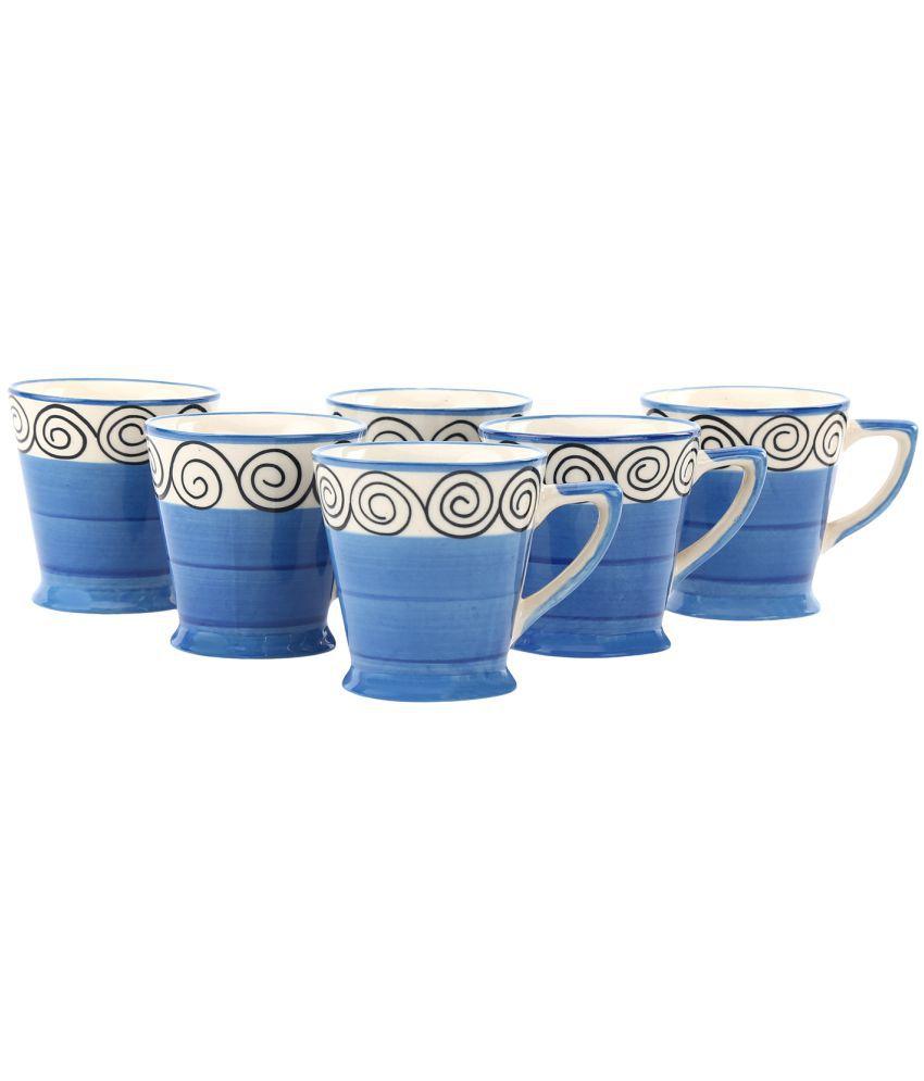 Kittens Ceramic Handpainted cups Tea Cup 6 Pcs 160 ml