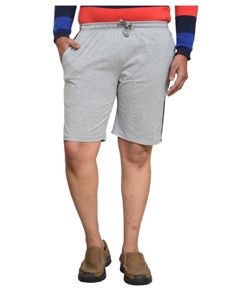 British Terminal White Shorts