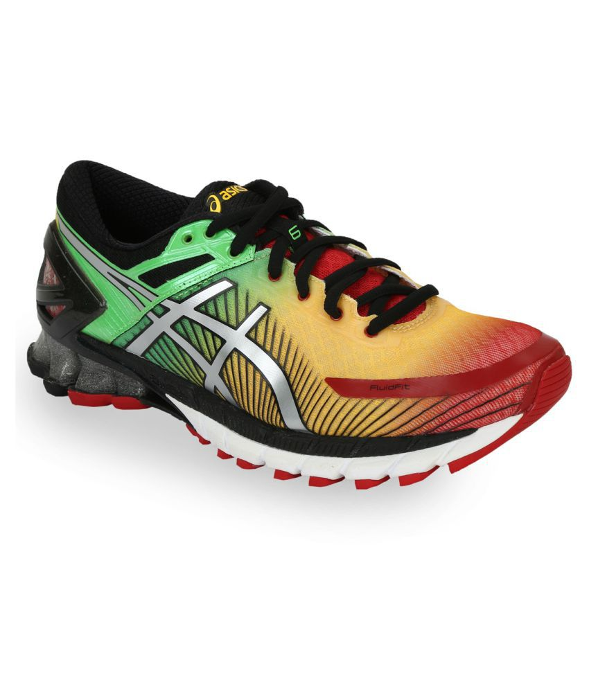 Asics GEL-KINSEI 6 Multi Color Running Shoes ...