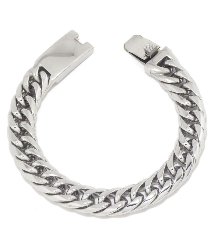 Saizen Silver Bracelet for Men