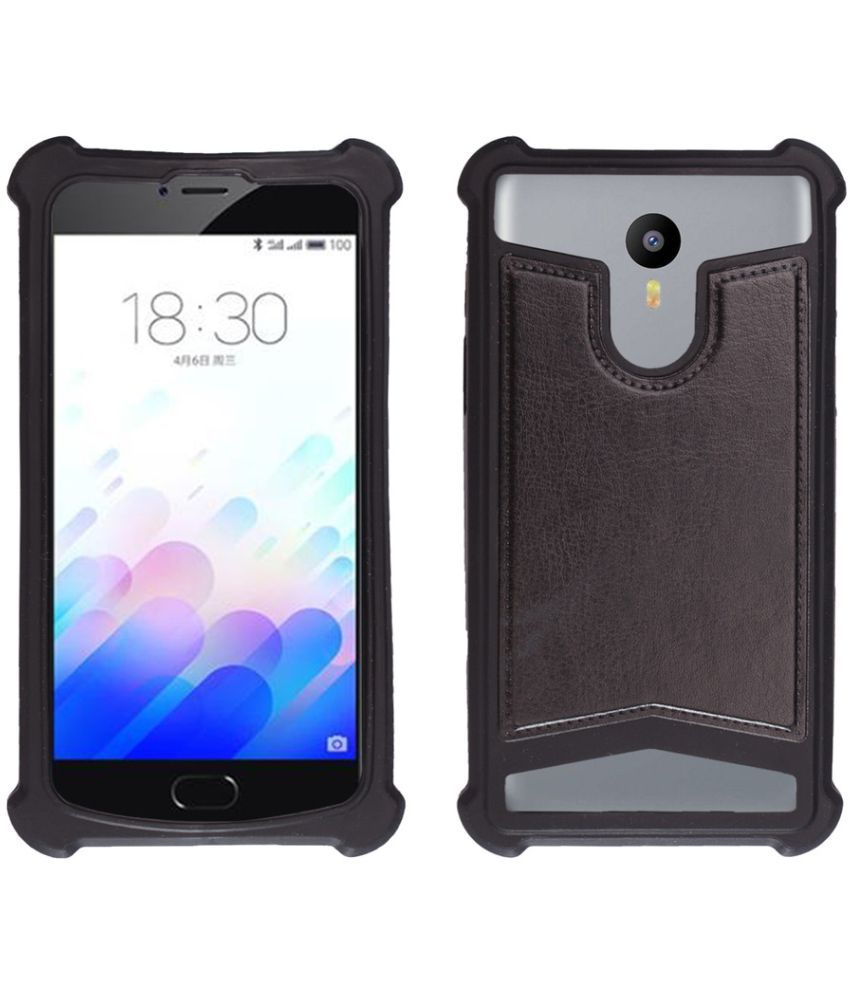timeless design 74cbc 74baa Gionee Marathon M4 Shock Proof Case Shopme - Black